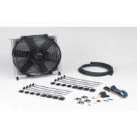 30-PLATE TRANSMISSION COOLER & 10 inch THERMATIC FAN COMBO - PART No: 691