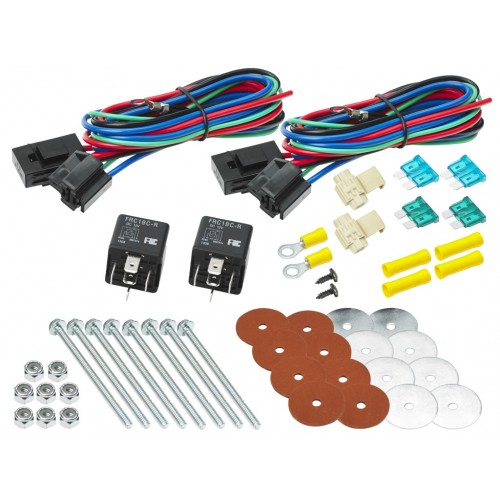 Universal Dual Fan Mounting Kit (12V) (1002)