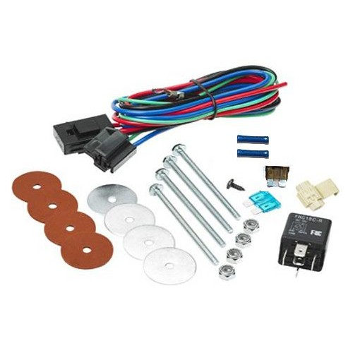 Single Fan Mounting Hardware Kit (24V) (1001)