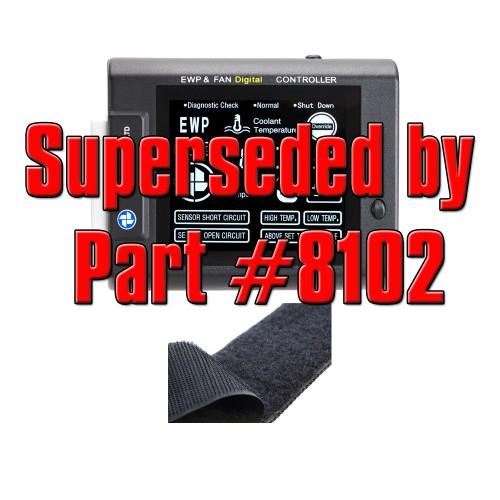 EWP & FAN Digital Controller + Velcro (12 & 24V) (8101)