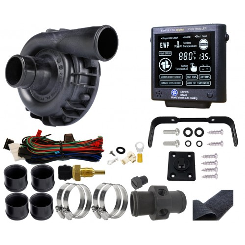 EWP115 Nylon Combo - 12V 115LPM/30GPM Remote Electric Water Pump & Controller Combo(8930)