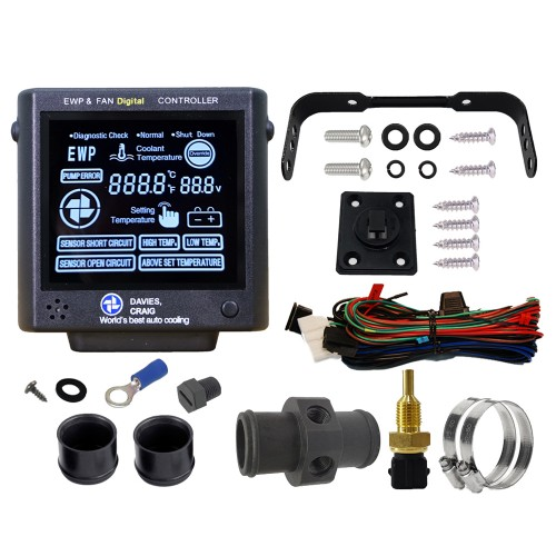 Electric Water Pump & Fan Digital Controller Kit (8002)