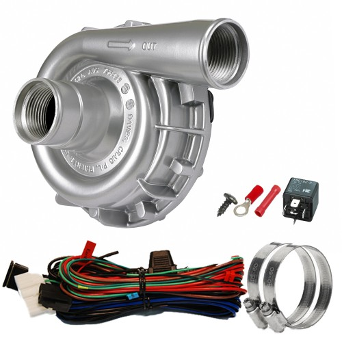 EWP115 Alloy Kit - 12V 115LPM/30GPM Remote Electric Water Pump (8040)