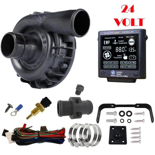 EWP115 Nylon Combo - 24V 115LPM/30GPM Remote Electric Water Pump & Controller (8931)